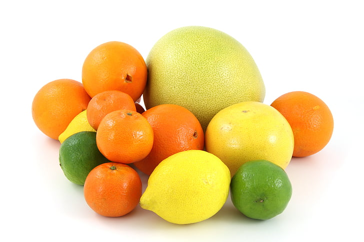 assorted citrus fruits