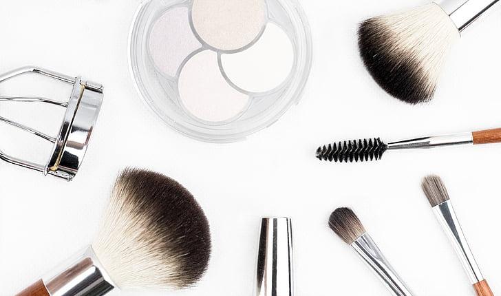 assorted beauty cosmetics