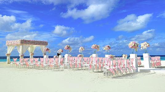 bridal and groom beach set