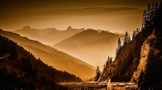 mountains during daytime photo