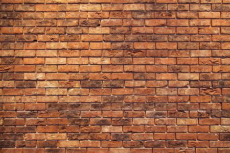 brown bricks wallpaper