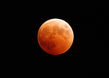 red moon photo