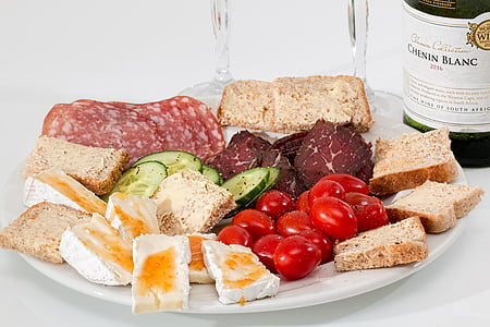 cold cut meat platter