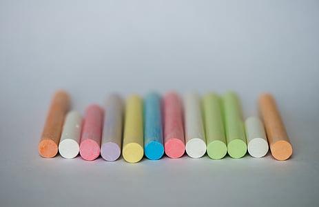 assorted chalks