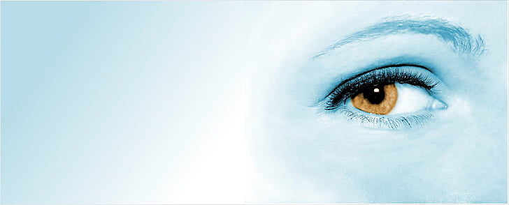 blue eye painting