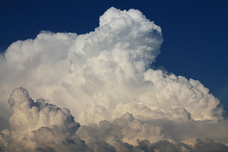 landscape photo of white clouds