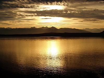 sunset display